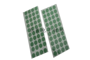 高温绿胶冲型